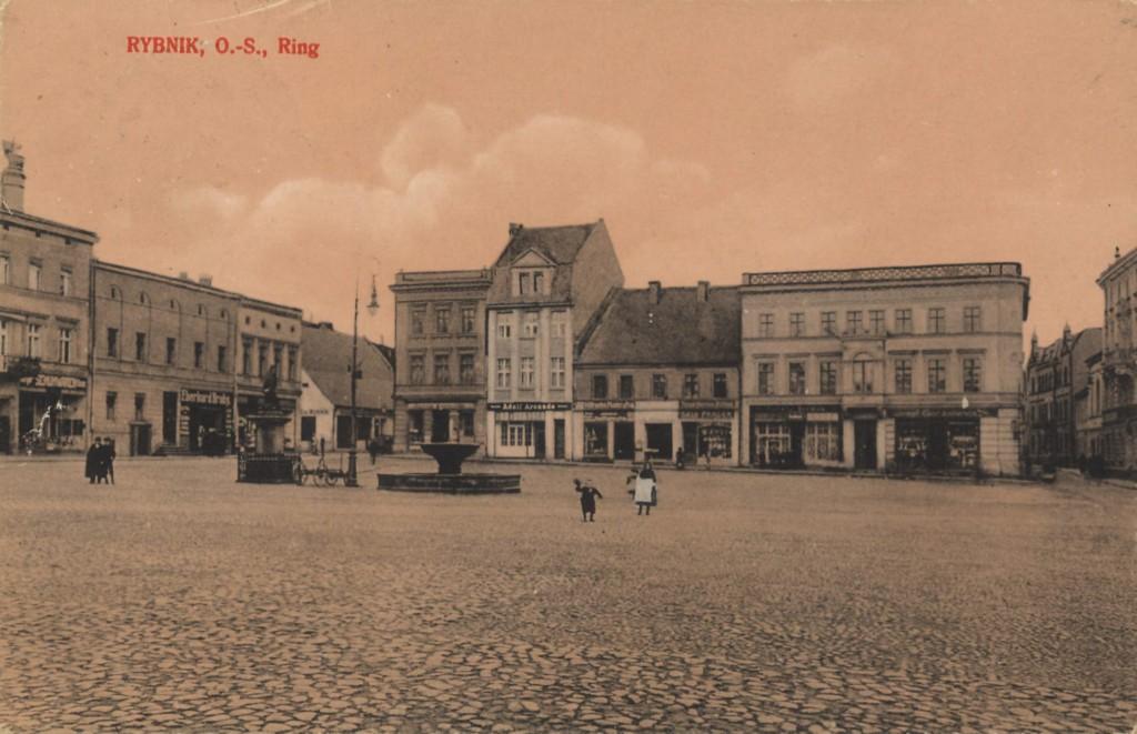 Aronade na rynku przed 1922